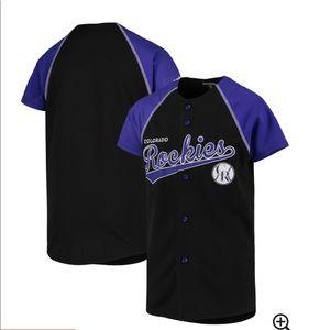 True fan Genuine Merchandise Rockies jersey